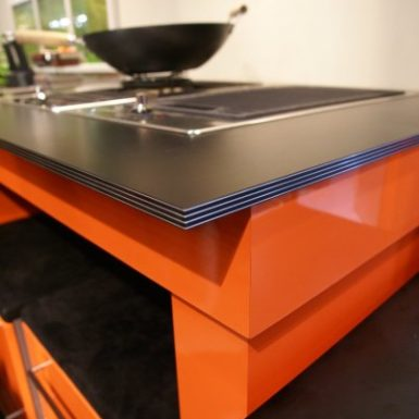 laminate kitchen cabinet