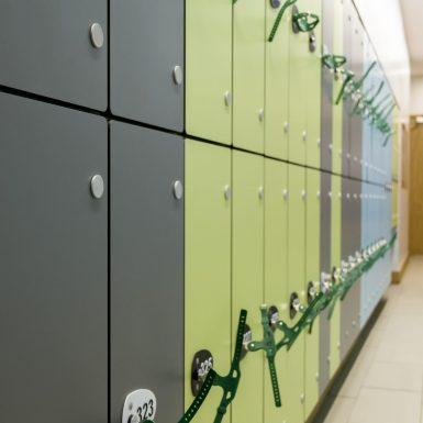 compact laminate lockers school